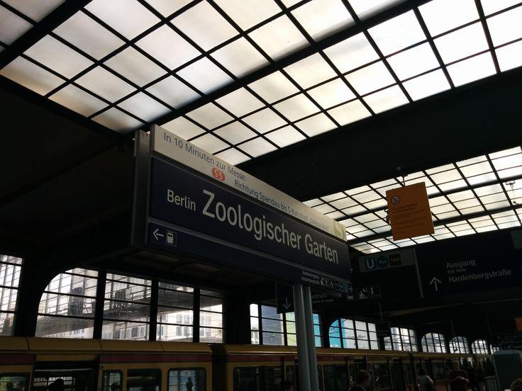 Great Berlin Am Zoo Bahnhof Zoologischer Garten Charlottenburg
