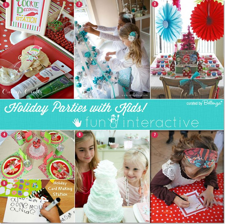 Christmas Children Party: 342 Best CHRISTMAS PARTY IDEAS FOR KIDS Images On