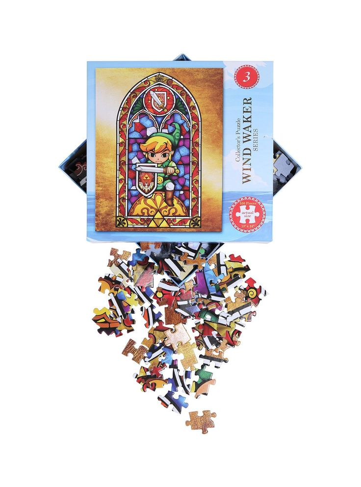 The Legend of Zelda The Wind Waker 3 Collector's Puzzle