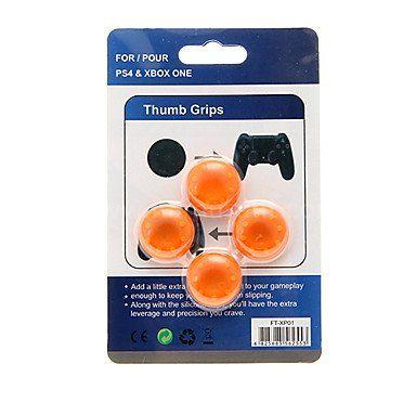 Chapeau de protection joystick manette Sony PS4 vous permet de protéger les joysticks de l'usure, pour l'esthétique de la manette.