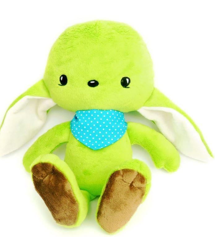 Der kleine süße Troll ist wirklich zum knuddeln - Schnittmuster und Nähanleitung via Makerist.de