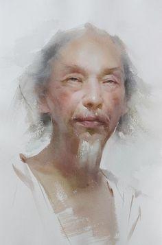 liu yi in watercolor