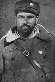 """Mayor Valentín González González """"El Campesino"""" (1904-1983). Jefe de la 46ª División del Ejército Popular de la República."""