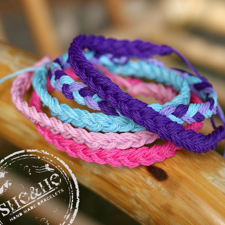 hand made braid bracelets, bracelets strings, macrame