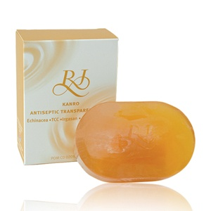 RJ Komachi AntiSeptic Transparant Soap Rp 39.500  Hub : TokoKawan.com / 0898 237 56 19