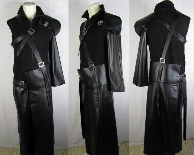 Holy SHIT. Cloud Strife's coat! I WANT IT!!!! I WANT A BOYFRIEND THAT LOOKS LIKE CLOUD AND THEN WILL BUY THIS AND WEAR IT!!!!!! <3