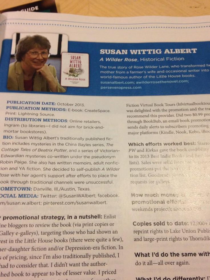 My article about self-publishing A Wilder Rose, in the Feb 2015 issue of Writers Digest