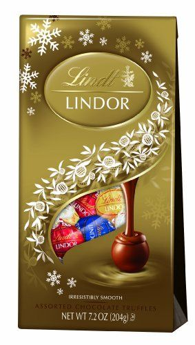 Lindt LINDOR Assorted Chocolate Holiday Truffle 7.2 Ounce - http://bestchocolateshop.com/lindt-lindor-assorted-chocolate-holiday-truffle-7-2-ounce/