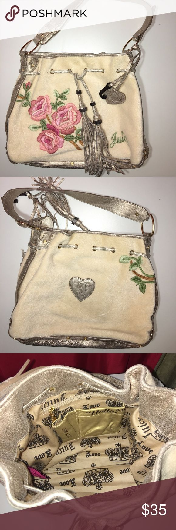 JUICY COUTURE Handbag/Purse JUICY COUTURE Handbag/Purse Excellent condition no stains rips or holes beautiful rose juicy bag Juicy Couture Bags Totes