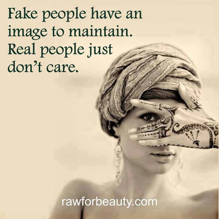 Love Is Fake Quotes: Fake People And Real People
