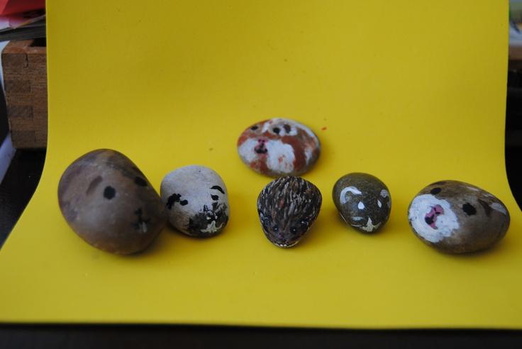 Caafs van stenen, wat wij er van hebben gemaakt :-).