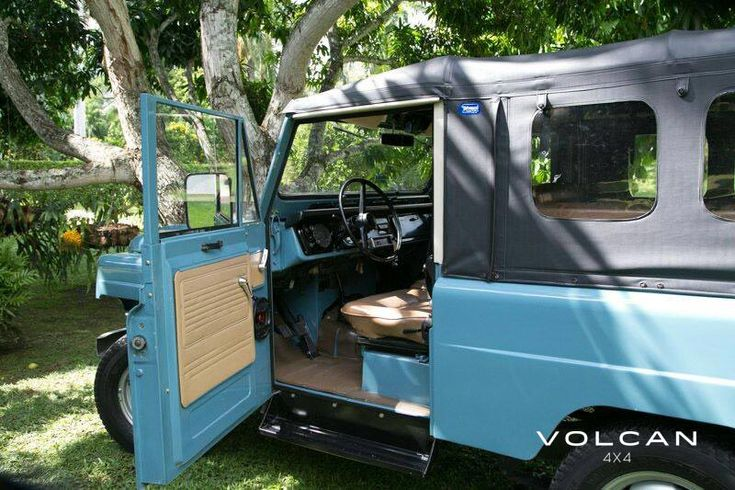 "Begging for a drive. 'Indigo' is our rare-to-the-US, ""Hemmings Pick"" 1979 Nissan Patrol LG-60 from Volcan 4x4."