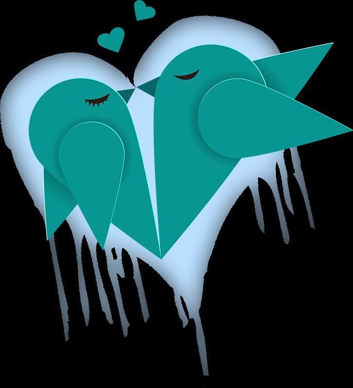 Love Birds (Version 04) 2014 Collection  -  © stampfactor.com