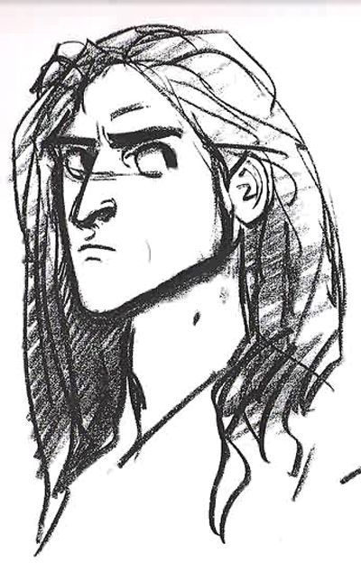 """Tarzan Sketche by my favorite animator, Glen Keane. I would seriously watch a whole movie having the original animations without color. In my opinion, they're more beautiful when they're """"sketchy""""."""