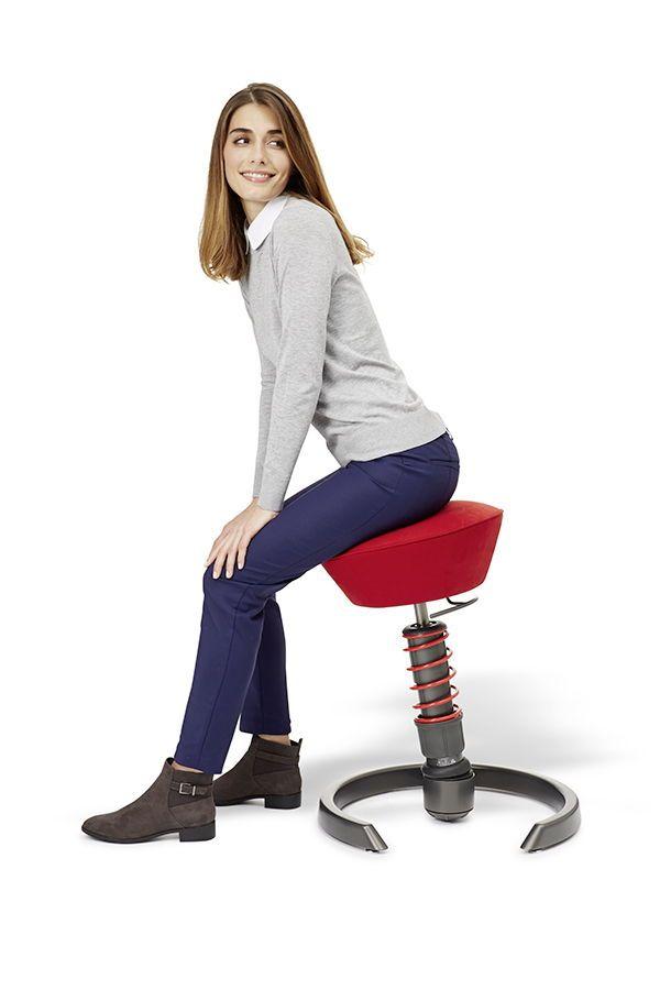 Ergonomischer Bürostuhl: swopper. Der Aktiv Stuhl passt sich
