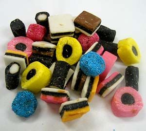 British licorice, supremely cool colors.