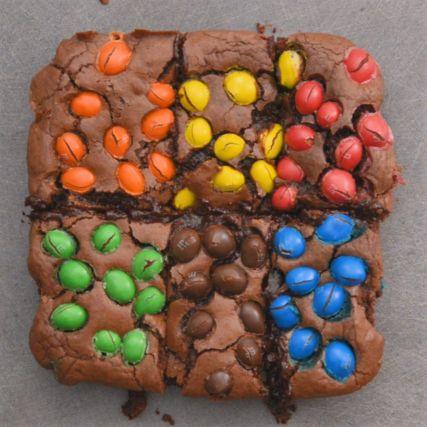 Recette - Brownie aux M&M'S en vidéo