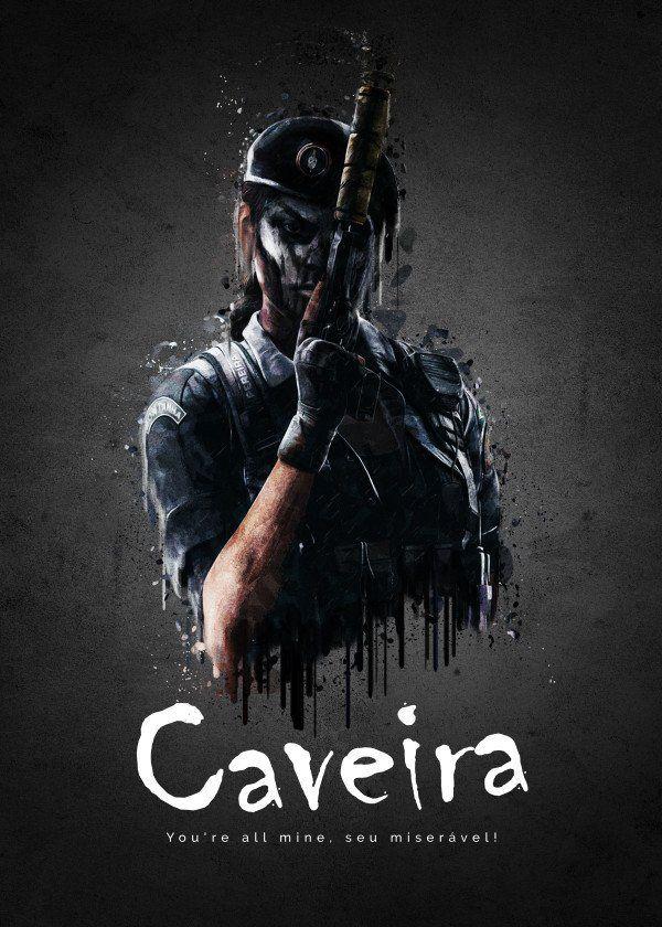 Operator Caveira From Rainbow Six Siege Operator Caveira From
