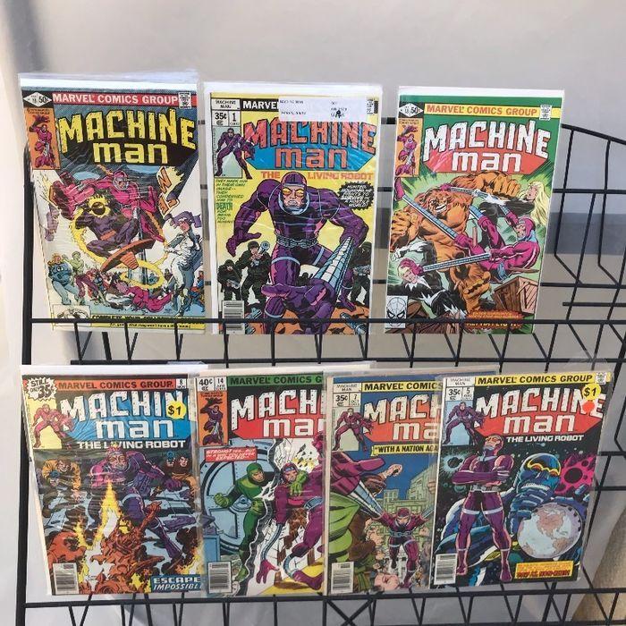 Machine Man 1 5 7 8 18 19 Lot 1st app of Jack o Lantern Jack