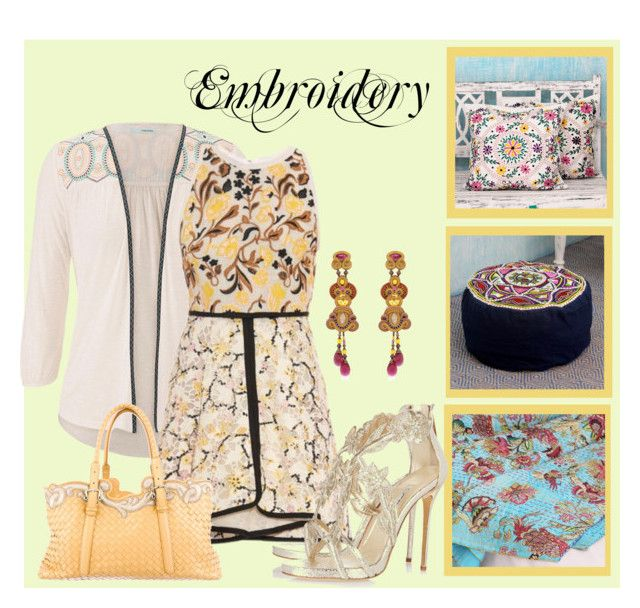 """Embroidery"" by fantasiegirl ❤ liked on Polyvore"