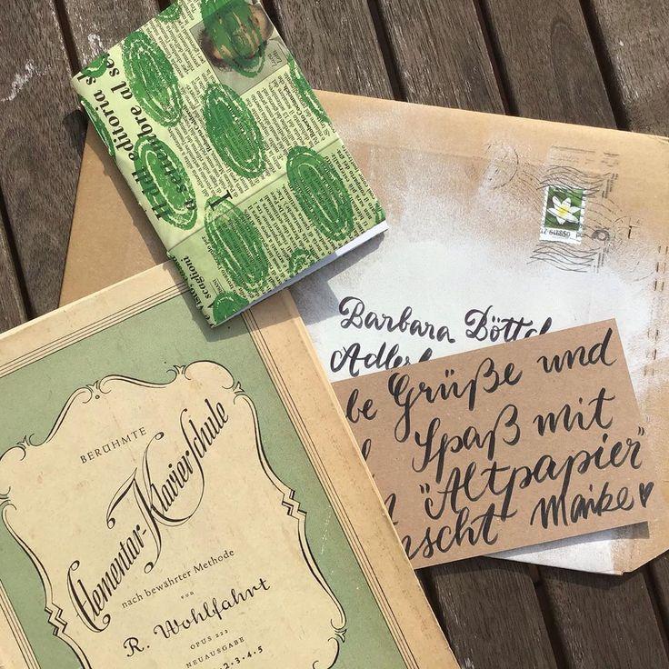 Lucky me 🤩 ich habe ganz wundervolle Post von Maike FrauGäbel bekommen. Ganz… – Geschenk