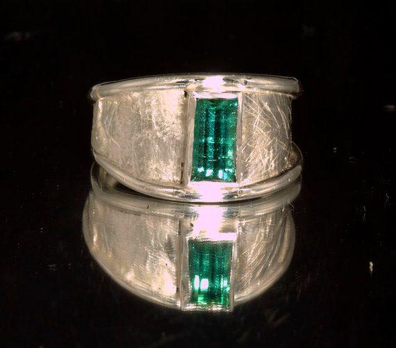 Chrome Green GEM Grade Tourmaline in Handmade by janeysjewels