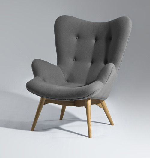GRANT FEATHERSTON STYLE CONTOUR LOUNGE CHAIR
