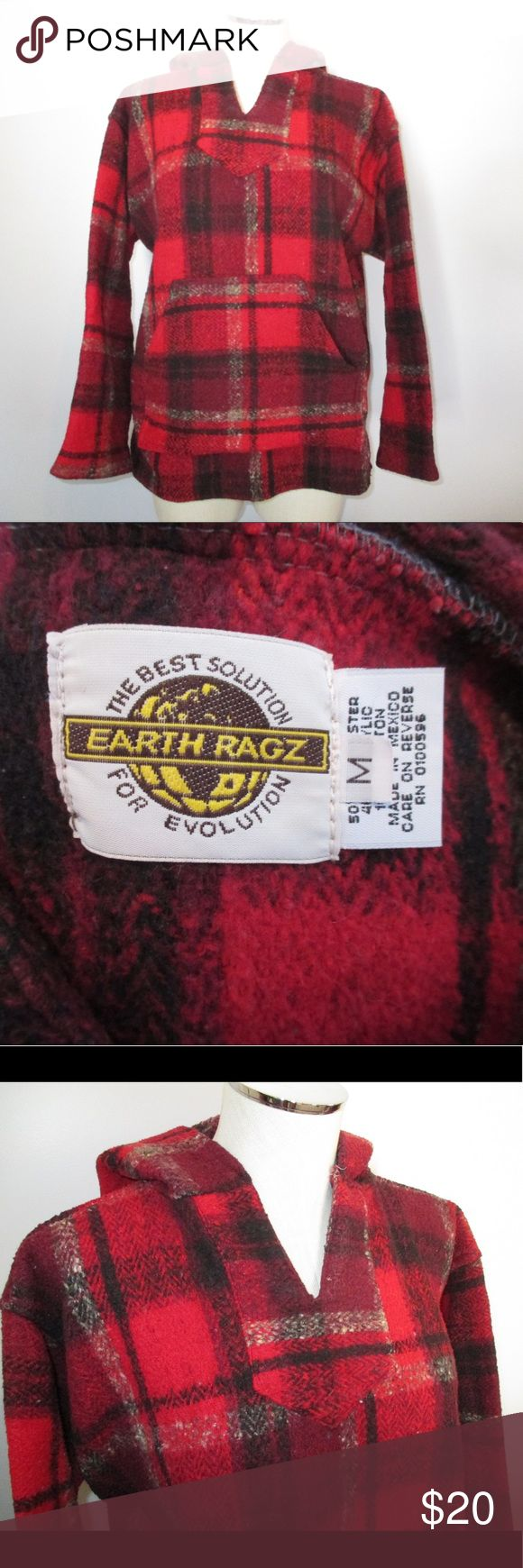 🆕 Earth Ragz Baja hoodie 🆕 listing not nwt.   👗Original owner - noticeable wear will be displayed in (but not limited to) their own pictures.  🛒Reasonable offers will be considered  💔Offers less than $7 or 50% will be declined  🛍Take advantage of bundle offers 🚫No trades/transactions outside PM🚫  🐶 Pet friendly/smoke free home 🚭 🎉Happy poshing! 🎉 earth ragz Tops Sweatshirts & Hoodies