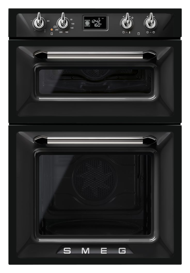 Black Smeg Victoria Double Oven In 2019 Double Oven