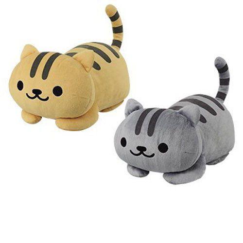 Nekoatsume Big Plush Doll Set Neko Atsume Cats Gathered NEW From Japan