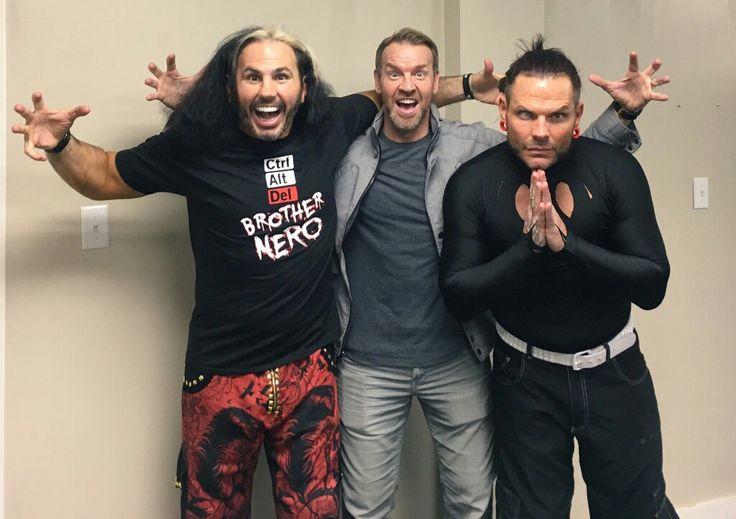 Christian, Matt and Jeff Hardy