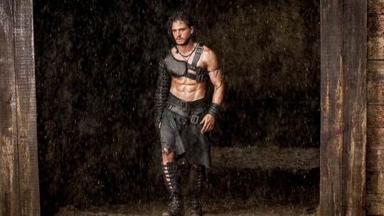 From 'Game of Thrones' to 'Pompeii,' Kit Harington swings mighty sword