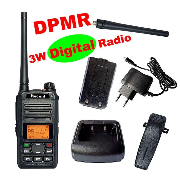dPMR Professional 3W Digital Radio RS309D Walkie Talkie 256 Channels Clear Voice LCD Display Professional Radio Transceiver