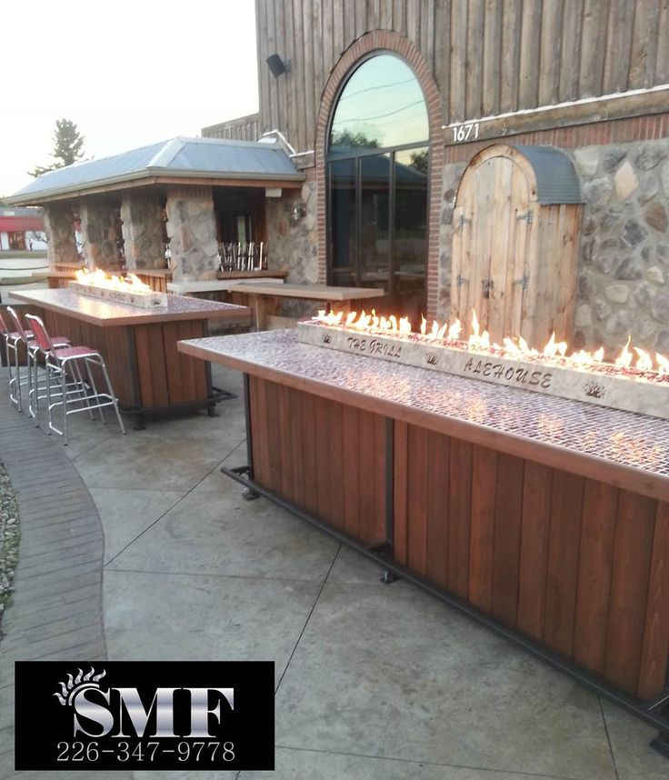 All of our Fire Tables are custom designed to fit the needs of our customers – residential and commercial.  The price per table depends greatly on the amount of detail and materials chosen to accentuate the artistic tables.  As we are custom designers, there is no job that is too large or too small, nothing too simple or too elaborate, in fact our favorite pieces are the most challenging ones!  For more information, please email us at: sunsetmetal24@gmail.com