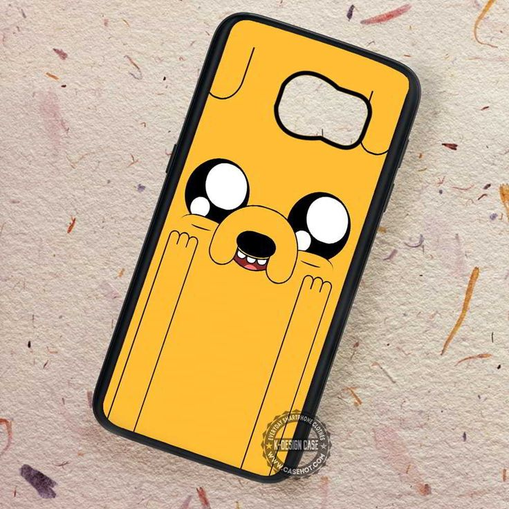 Adventure Time Jake Face Funny - Samsung Galaxy S7 S6 S5 Note 7 Cases & Covers