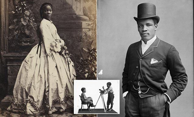 Photographs of black Britons in 1800s unearthed after 125 years reveal 'rich and diverse black presence'