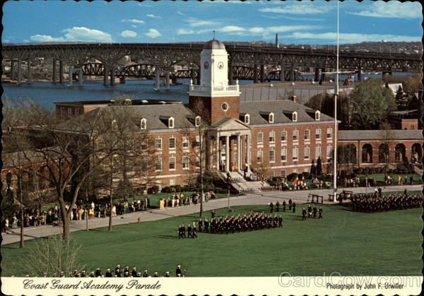 Coast Guard Academy Parade New London Connecticut John F. Urwiller
