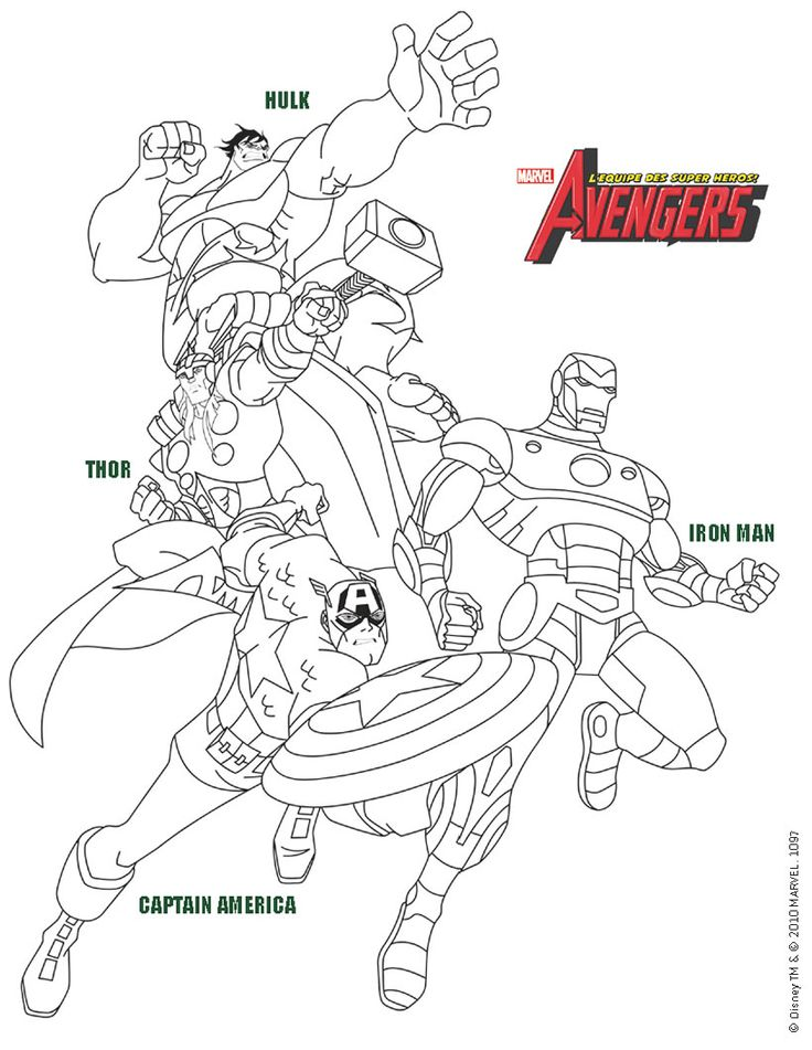 11 best Superhéros images on Pinterest Coloring books, Coloring - copy avengers coloring pages online