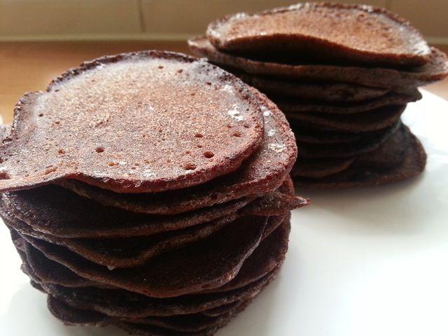 Paleo chocolade pannenkoeken | Oerkracht - Paleo, Puur & meer