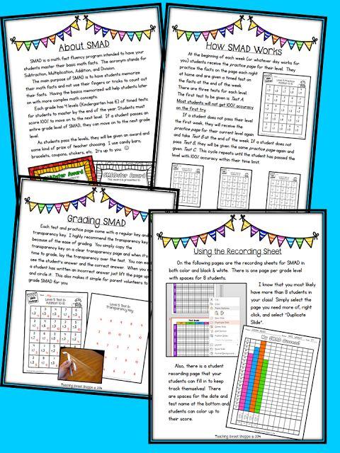 39 besten Math Fact Practice Bilder auf Pinterest   Html, Mathe ...