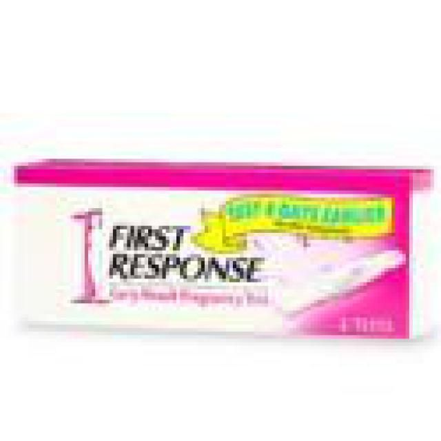 8 Pregnancy Tests You Should Know About: First Response Pregnancy Test Kit