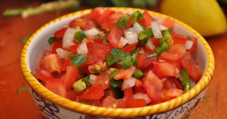 """Universo dos Alimentos: """"Salsa"""" Pico de Gallo"""