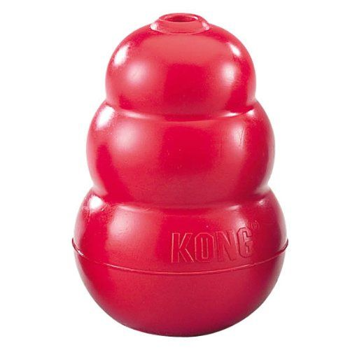 KONG Classic Dog Toy, Large, Red - http://weloveourpugs.net/?product=kong-classic-dog-toy-large-red