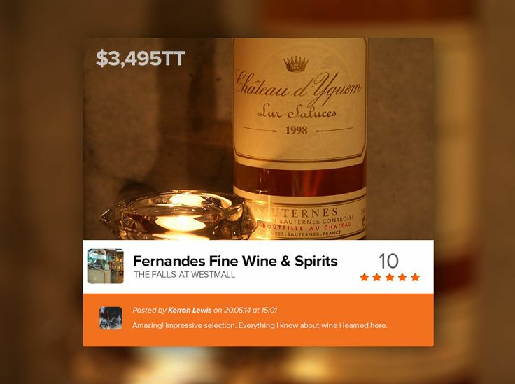 """Fernandes Fine Wines & Spirits has carefully selected to stock Château d'Yquem, from the Sauternes, Gironde region in the southern part of the Bordeaux vineyards. In the Bordeaux Wine Official Classification of 1855, Château d'Yquem was the only Sauternes given the rating of Premier Cru Supérieur (that's french for """"Superior First Growth"""")."""