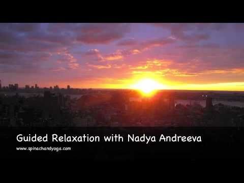 ▶ Guided Relaxation - Yoga Nidra - with Nady Andreeva