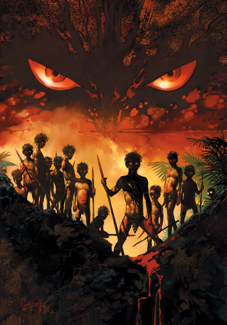 Lord Of The Flies Themes: Human Nature, Society, Fear