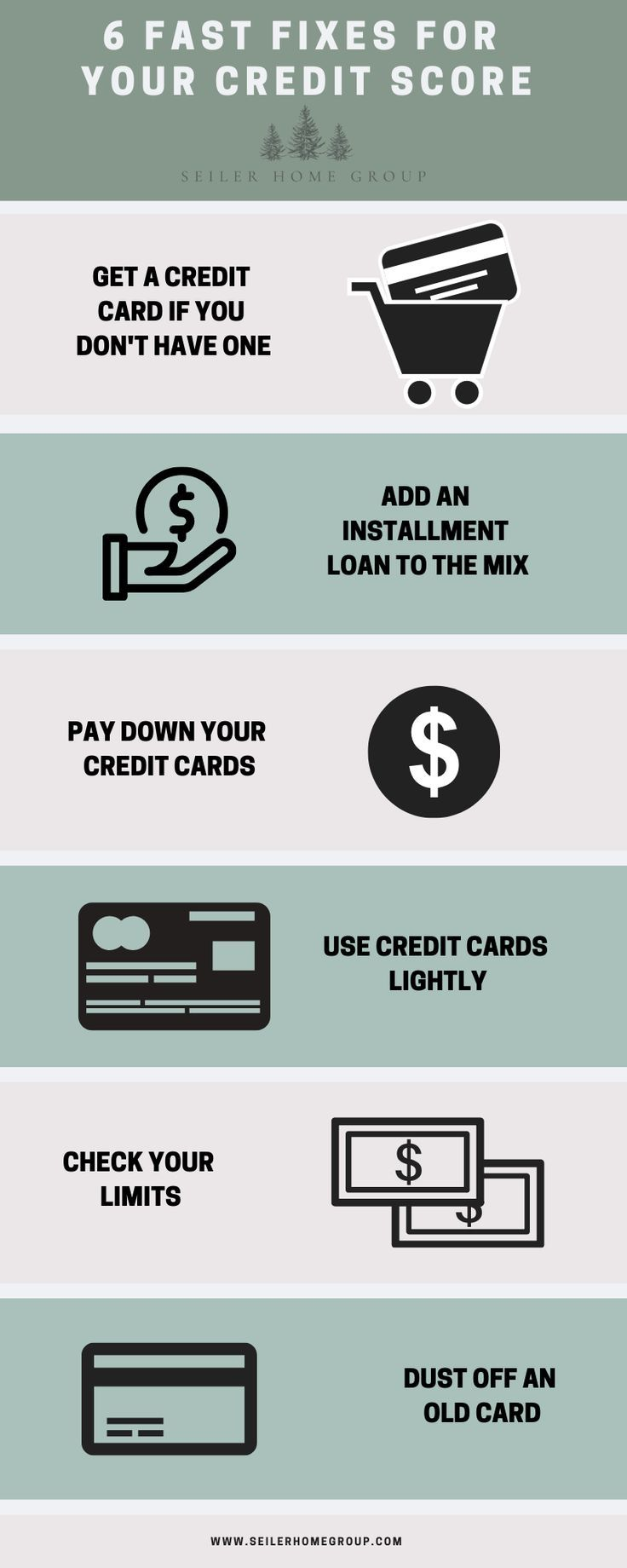 6 Fast Fixes For Your Credit Score Improve Credit Score Credit