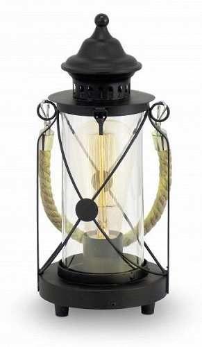 Prezzi e Sconti: #Eglo vintage lampada da tavolo nero 1-luce  ad Euro 49.32 in #Eglo #Illuminazione interni