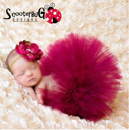 2016 Kids Infant Baby Girl Clothes Newborn Photography Props Red Tutu Skirt Big…$11.95