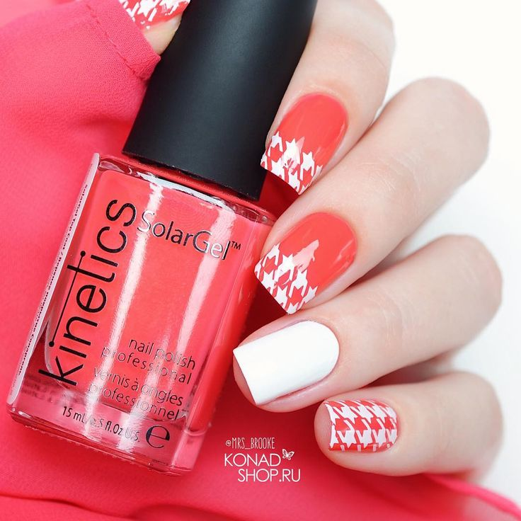 "668 Likes, 7 Comments - Marina  ▾  Nail Blogger⠀⠀⠀ (@mrs_brooke) on Instagram: ""❤ Kinetics - Too hot to believe ❤ Пластина Konad Square Image Plate 21 ❤ Белая краска от…"""